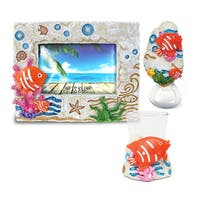 Home Decor Value Pack Fish Resin Stone collection - Set of 3