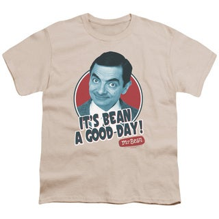 Mr Bean/Good Day Short Sleeve Youth 18/1 in Cream