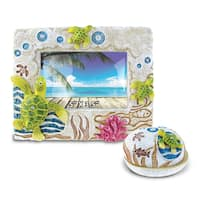 Home Decor Value Pack Sea Turtle Resin Stone collection - Set of 2