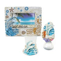 Home Decor Value Pack Dolphin Resin Stone collection - Set of 3