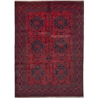 eCarpetGallery Khal Mohammadi Red Hand-Knotted Wool Rug (8' x 11')