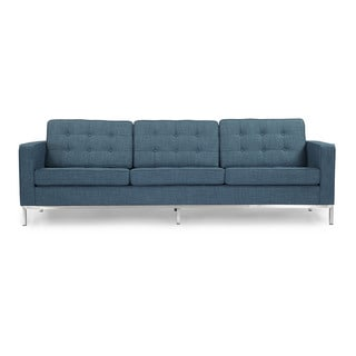 Kardiel Florence Knoll Style Sofa 3 Seat, Premium Fabric Upholstery