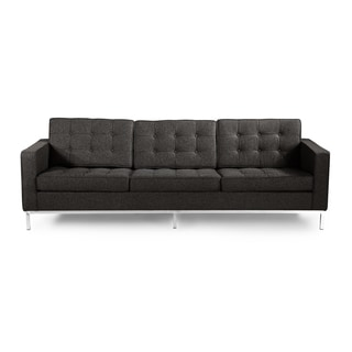 Kardiel Florence Knoll Style 3 Seat Sofa, Cashmere Wool