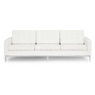 Kardiel Florence Knoll Style Genuine Standard Leather 3-seat Sofa