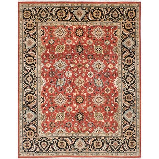 eCarpetGallery Serapi Heritage Red Wool Hand-knotted Rug (7'10 x 11')