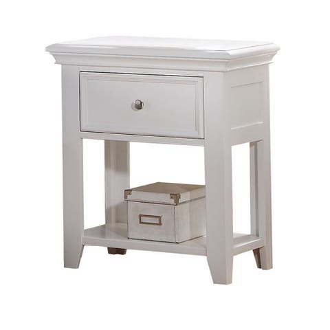 Nightstand with 1 Drawer, Espresso