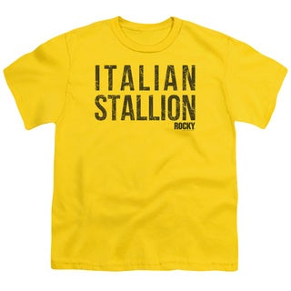 MGM/Rocky/Italian Stallion Short Sleeve Youth 18/1 in Yellow