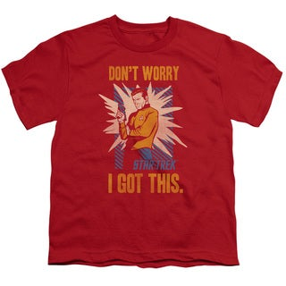 Star Trek/Got This Short Sleeve Youth 18/1 in Red