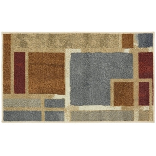 Mohawk Soho Regnar Multi Area Rug (16 x 26) - Blue/Grey/Brown - 16 x 26 (16 x 26 - Blue/Grey/Brown)