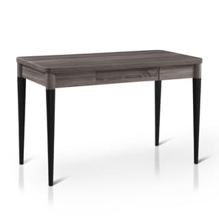 Furniture of America Elissa Contemporary Simple Two-Tone 1-drawer Writing Desk/Console Table