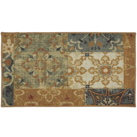 "Mohawk Soho Harmonic Patch Multi Area Rug (1'6 x 2'6) - 1' 6"" x 2' 6"""