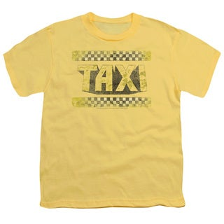 Taxi/Run Down Taxi Short Sleeve Youth 18/1 in Yellow