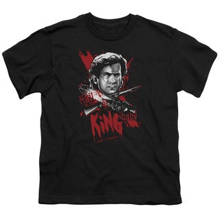 MGM/Army Of Darkness/Hail To The King Short Sleeve Youth 18/1 Black