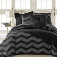 Comfy Bedding Spot Chevron Microfiber 5-piece Comforter Set