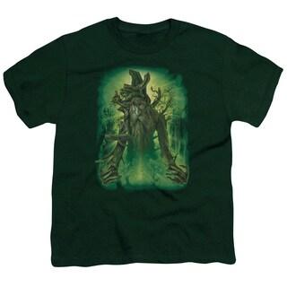 LOTR/Treebeard Short Sleeve Youth 18/1 in Hunter Green