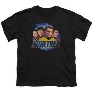 Star Trek/The Boys Short Sleeve Youth 18/1 in Black