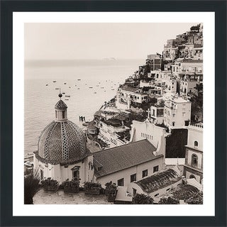 "Alan Blaustein ""Positano Vista"" Framed Plexiglass Wall Décor"