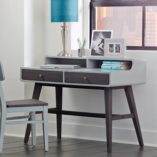 NE Kids East End Grey Wood/Veneer Compact Desk