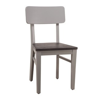NE Kids East End Collection Grey Wood Standard-height Chair