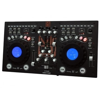 Mr.DJ MRCDMIX700BT Professional Bluetooth USB/SD Card Dual-CD Mixer