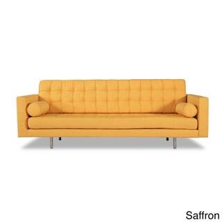 Kardiel Madison Mid-Century Modern Premium Fabric Upholstery Sofa