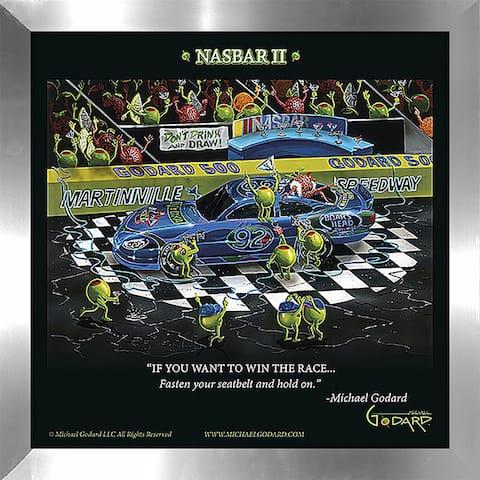 "Michael Godard ""Nasbar 2"" Fine Framed & Canvassed Wall Art"