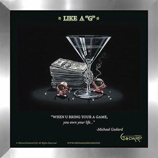 "Michael Godard ""Like a G"" Fine Framed & Canvassed Wall Art"