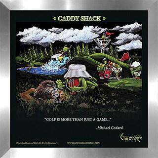 "Michael Godard ""Caddy Shack"" Fine Framed & Canvassed Wall Art"