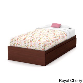 South Shore Twin Mates Bed with 3 Drawers