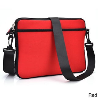 Kroo Multicolored Neoprene Messenger-style Carrying Bag with Strap