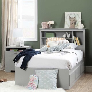 South Shore Reevo Twin Mates Bed with 3 Drawers