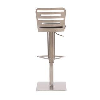 Pranzo Metal-back Barstool