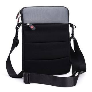Kroo 13-inch Zip-pocket Shoulder-strap Notebook/Tablet Sleeve|https://ak1.ostkcdn.com/images/products/12816643/P19584889.jpg?impolicy=medium