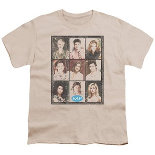 Mp/Season 2 Cast Squared Short Sleeve Youth 18/1 in Cream