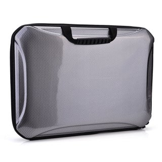 Kroo Grey 13-inch Semi Hard Shell Briefcase Style Laptop/Tablet Holder with Handles