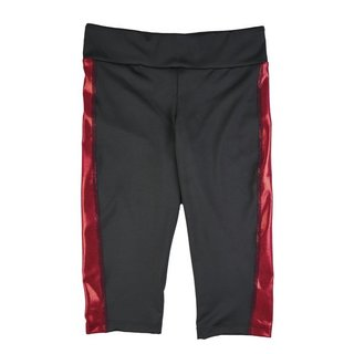 Team USA Red Foil Athletic Capri