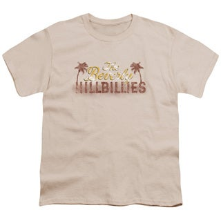 Beverly Hillbillies/Dirty Billies Short Sleeve Youth 18/1 in Cream