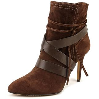 Vince Camuto Women's 'Solter' Brown Regular Suede Ankle Boots