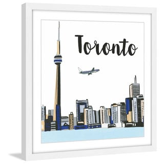 Marmont Hill - 'Toronto Lakeview' by Molly Rosner Framed Painting Print
