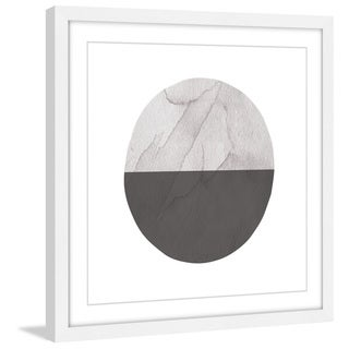 Marmont Hill 'Half Circle' by Diana Alcala Framed Wall Art Print - Multi