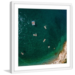 Marmont Hill - Handmade Lets Float Framed Print
