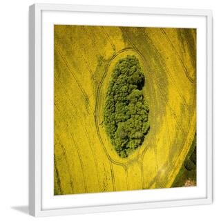 Marmont Hill - 'Plow Tracks' by Karolis Janulis Framed Painting Print