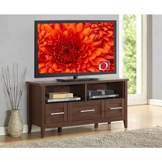 Modern Designs Grey Wood Storage TV Stand Consolole