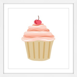 Marmont Hill - 'Cupcake Cherry' by Diana Alcala Framed Painting Print
