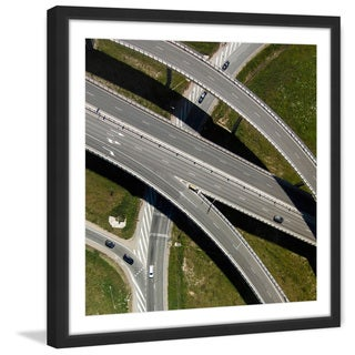 Marmont Hill - 'Highways' by Karolis Janulis Framed Painting Print