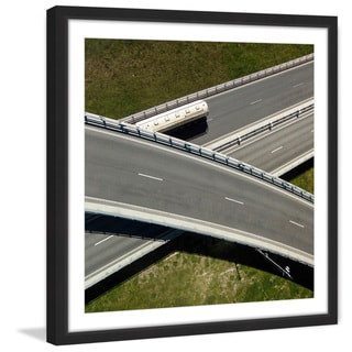 Marmont Hill - 'Overpass' by Karolis Janulis Framed Painting Print