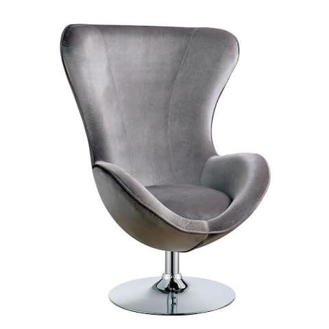 Furniture of America Cher Modern 2-pc. Chair/Ottoman Set