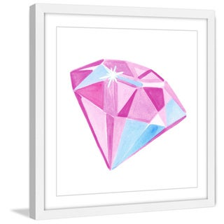 Marmont Hill - 'Diamond' by Molly Rosner Framed Painting Print