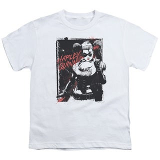 Batman/House Call Short Sleeve Youth 18/1 in White