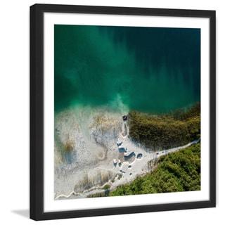 Marmont Hill - 'Sea Foam' by Karolis Janulis Framed Painting Print